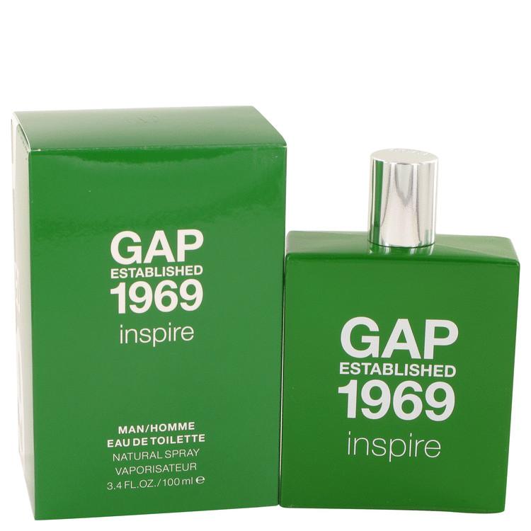Gap 1969 Inspire by Gap for Men Eau De Toilette Spray 3.4 oz