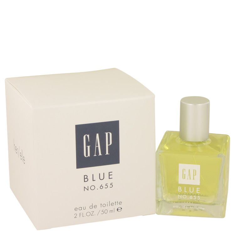 Gap Blue No. 655 by Gap for Women Eau De Toilette Spray 2 oz