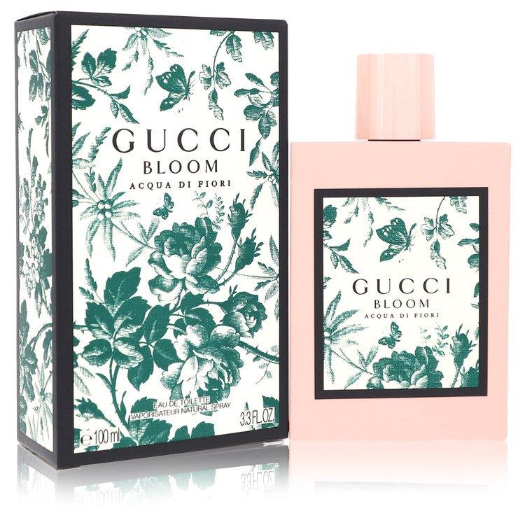Gucci Bloom Acqua Di Fiori by Gucci –  Eau De Toilette Spray 3.4 oz 100 ml for Women