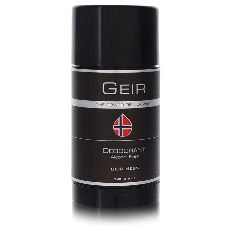 Geir Deodorant by Geir Ness 2.6 oz Deodorant Stick for Men