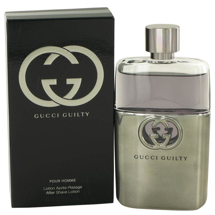 Gucci Guilty After Shave by Gucci 3 oz After Shave for Men