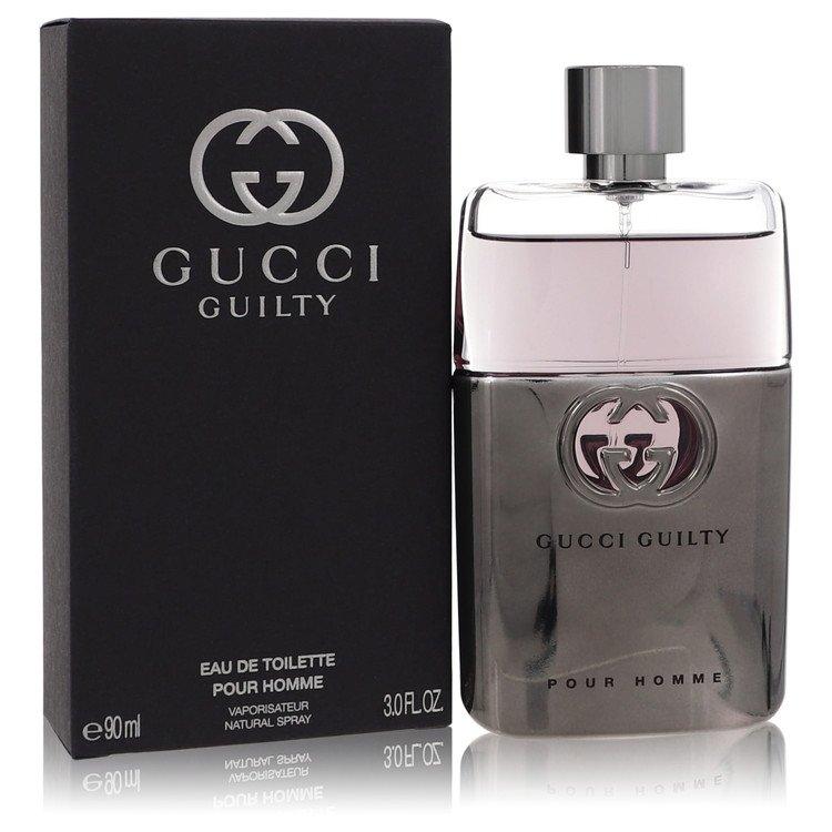 Gucci Guilty by Gucci Men's Eau De Toilette Spray 3 oz