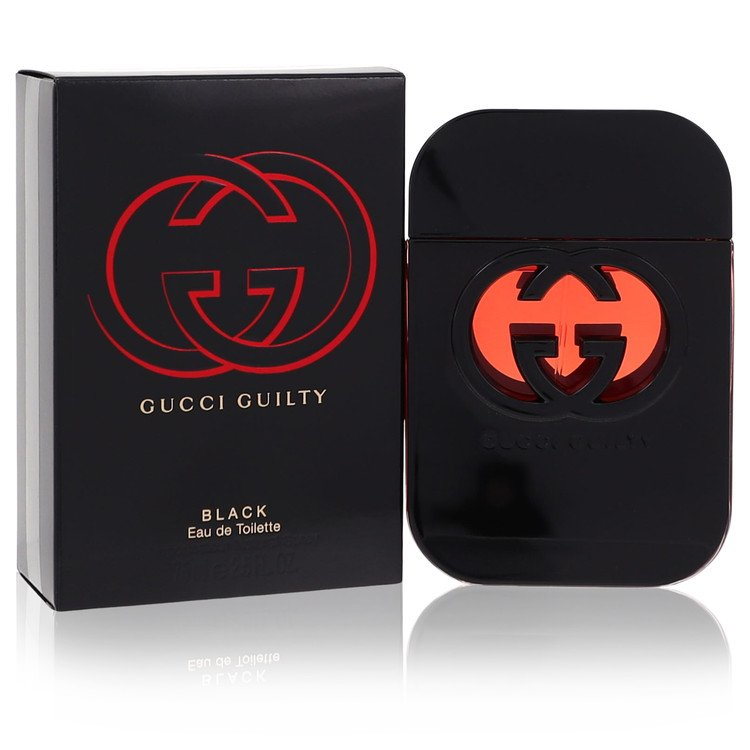 Gucci Guilty Black by Gucci –  Eau De Toilette Spray 2.5 oz 75 ml for Women