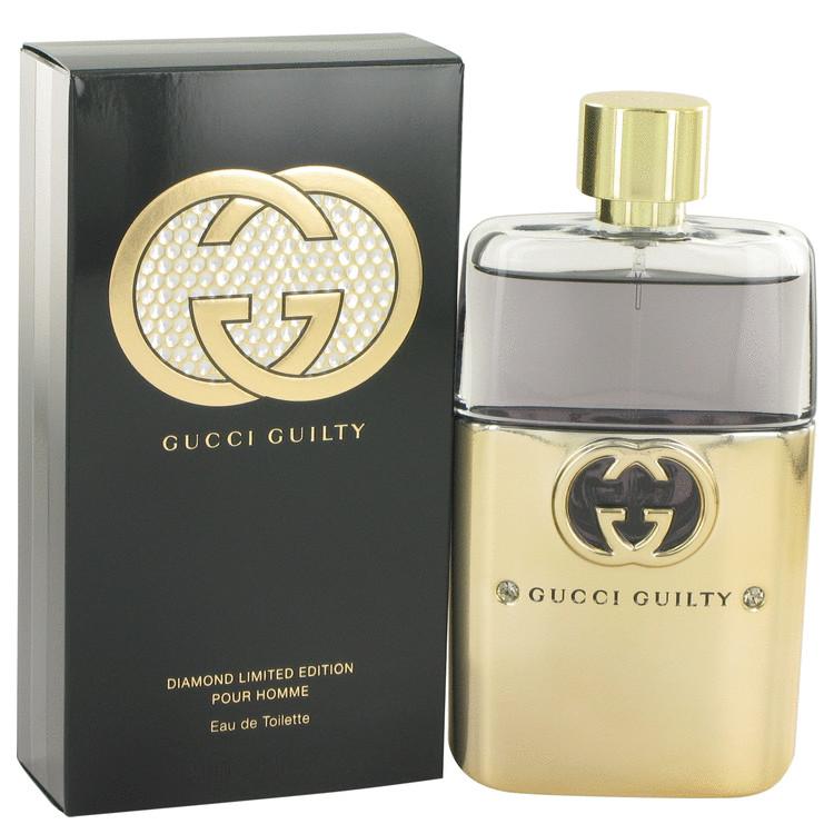 Gucci Guilty Diamond by Gucci for Men Eau De Toilette Spray 3 oz