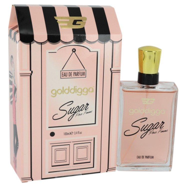 Golddigga Sugar Pour Femme by Golddigga for Women Eau De Parfum Spray 3.4 oz