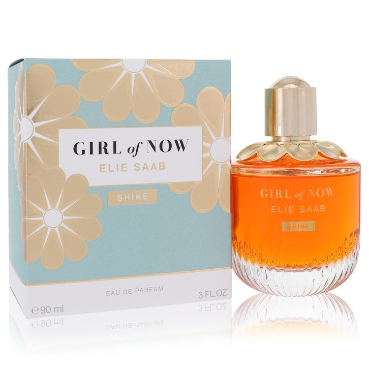 Girl of Now Shine by Elie Saab for Women Eau De Parfum Spray 3 oz