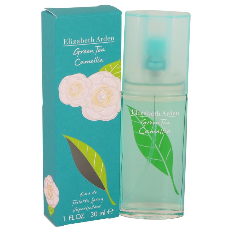 Green Tea Camellia by Elizabeth Arden for Women Eau De Toilette Spray 1 oz
