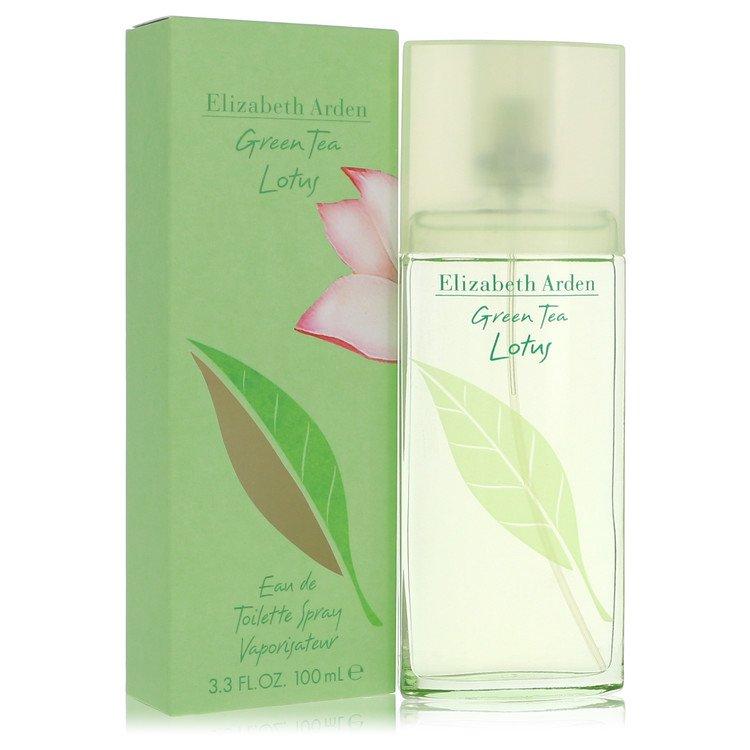Green Tea Lotus by Elizabeth Arden for Women Eau De Toilette Spray 3.3 oz