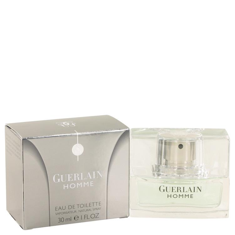 Guerlain Homme by Guerlain –  Eau De Toilette Spray 1 oz 30 ml for Men