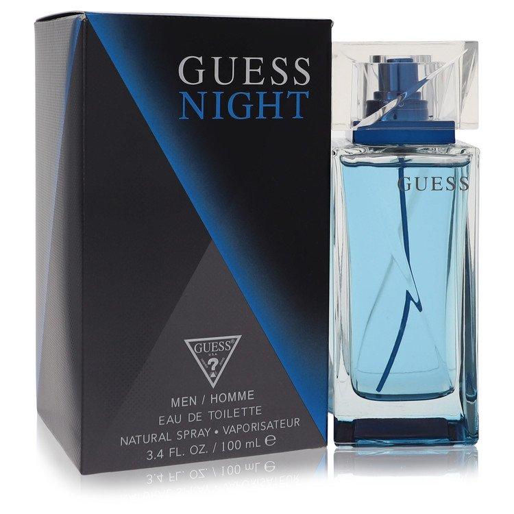 Guess Night Cologne by Guess 3.4 oz EDT Spray for Men