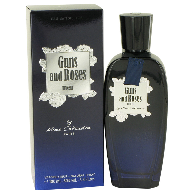 Guns and Roses by Mimo Chkoudra for Men Eau De Toilette Spray 3.3 oz