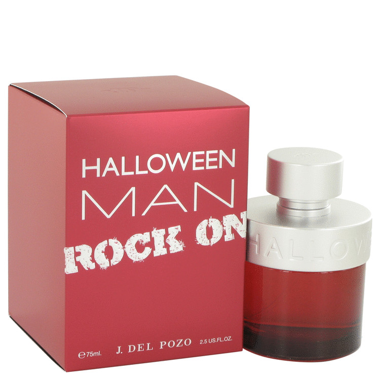 Halloween Man Rock On by Jesus Del Pozo for Men Eau De Toilette Spray 2.5 oz