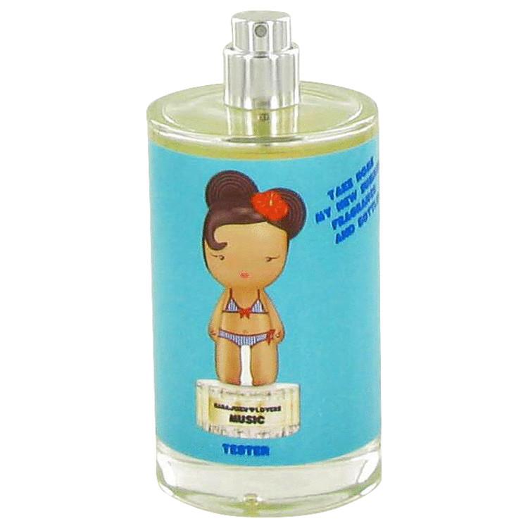 Harajuku Lovers Sunshine Cuties Music Perfume 3.4 oz EDT Spray(Tester) for Women