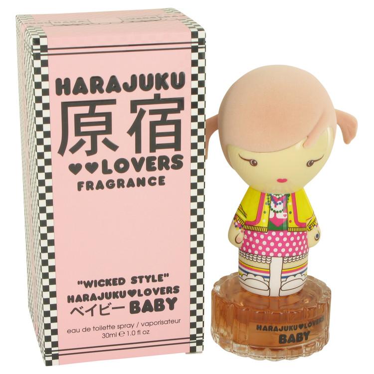 Harajuku Lovers Wicked Style Baby by Gwen Stefani for Women Eau De Toilette Spray 1 oz