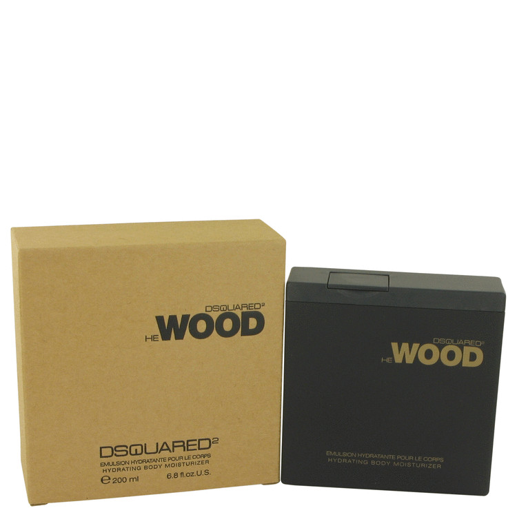 He Wood by Dsquared2 for Men Body Lotion 6.8 oz