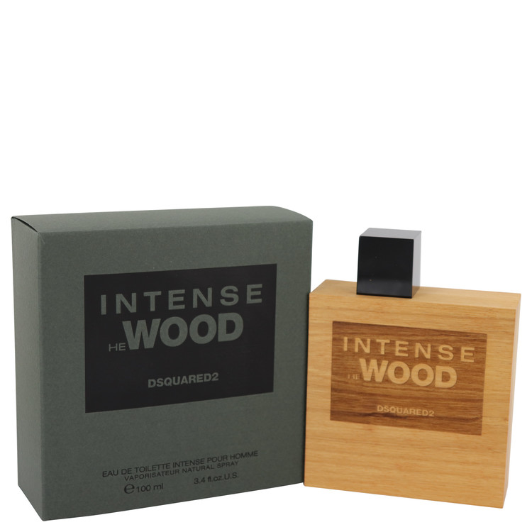 He Wood Intense Wood Cologne by Dsquared2 3.4 oz EDT Spay for Men