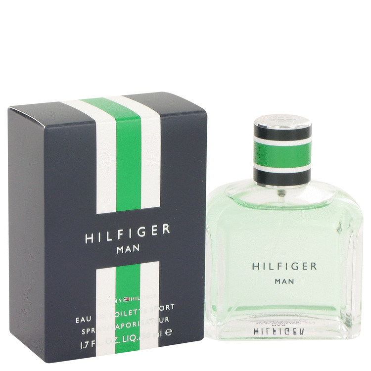 Hilfiger Man Sport Cologne by Tommy Hilfiger 1.7 oz EDT Spay for Men