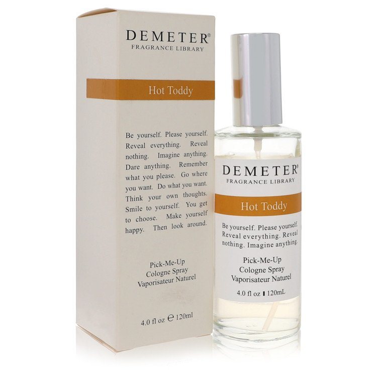 Demeter Hot Toddy by Demeter –  Cologne Spray 4 oz 120 ml for Women
