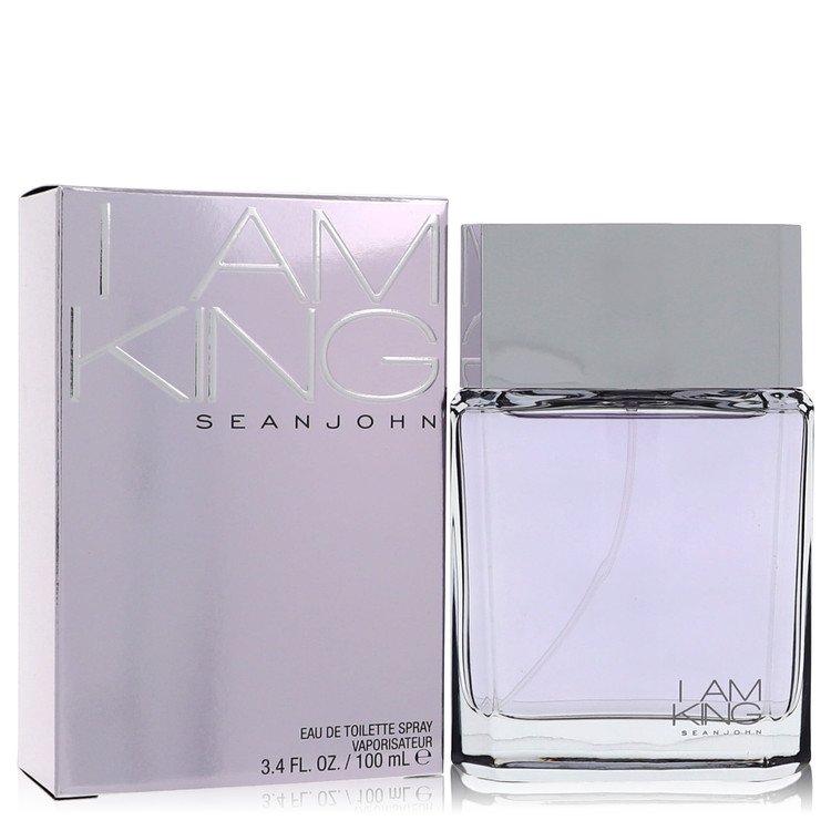 I Am King by Sean John for Men Eau De Toilette Spray 3.4 oz