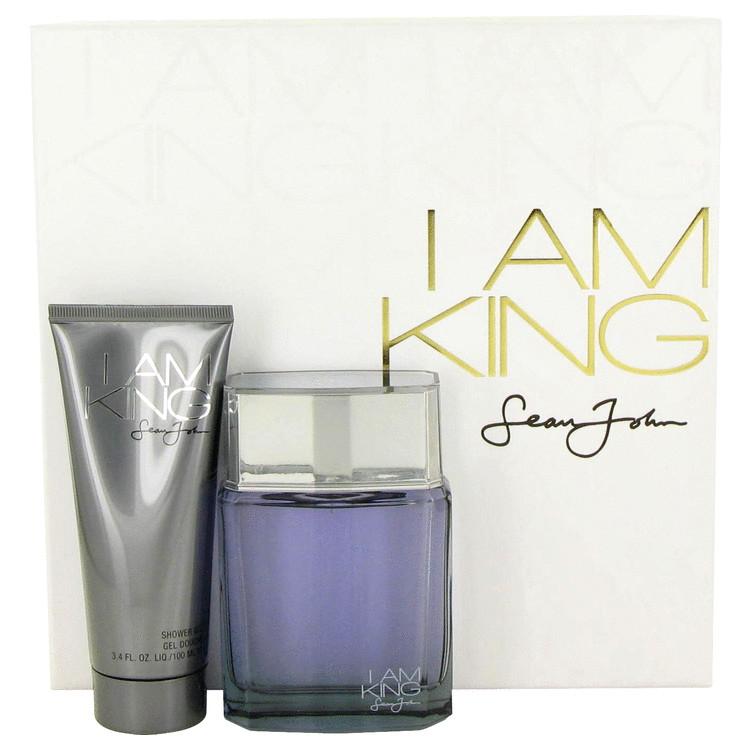 I Am King for Men, Gift Set (3.4 oz EDT Spreay + 3.4 oz Shower Gel)