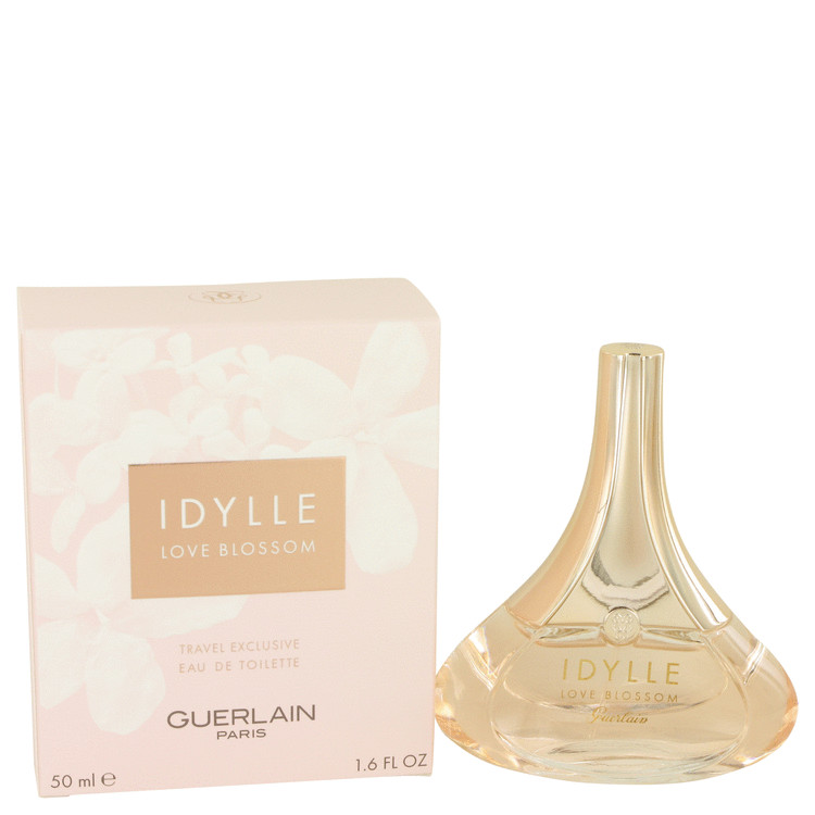 Idylle Love Blossom Perfume by Guerlain 1.6 oz EDT Spay for Women