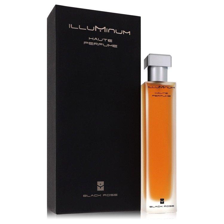 Illuminum Black Rose by Illuminum for Women Eau De Parfum Spray 3.4 oz