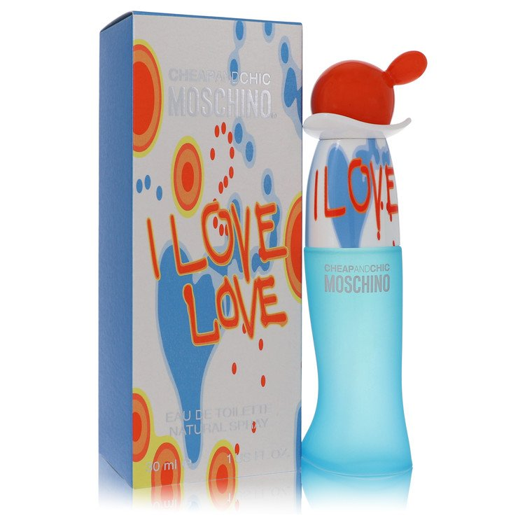 I Love Love Perfume by Moschino 1 oz EDT Spray for Women