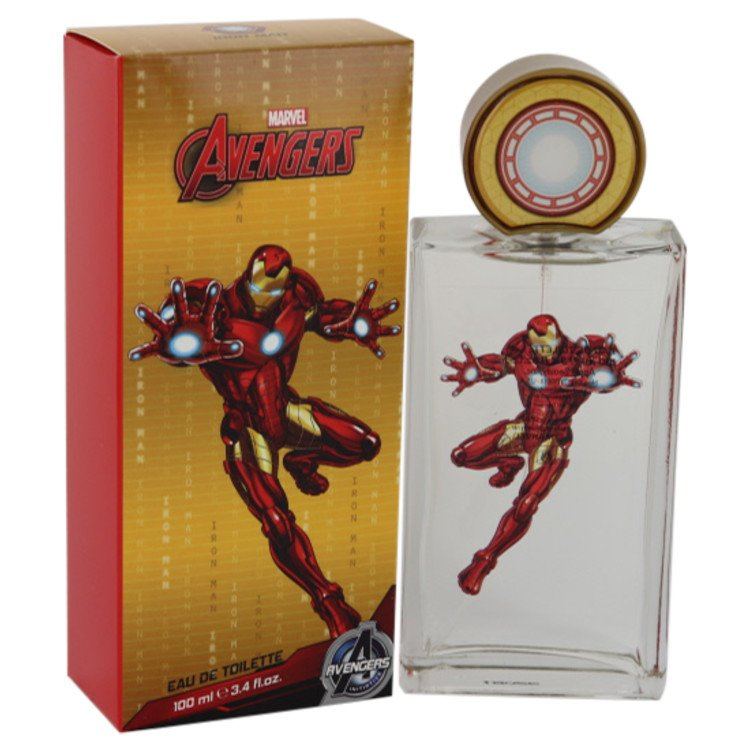 Iron Man Avengers by Marvel for Men Eau De Toilette Spray 3.4 oz