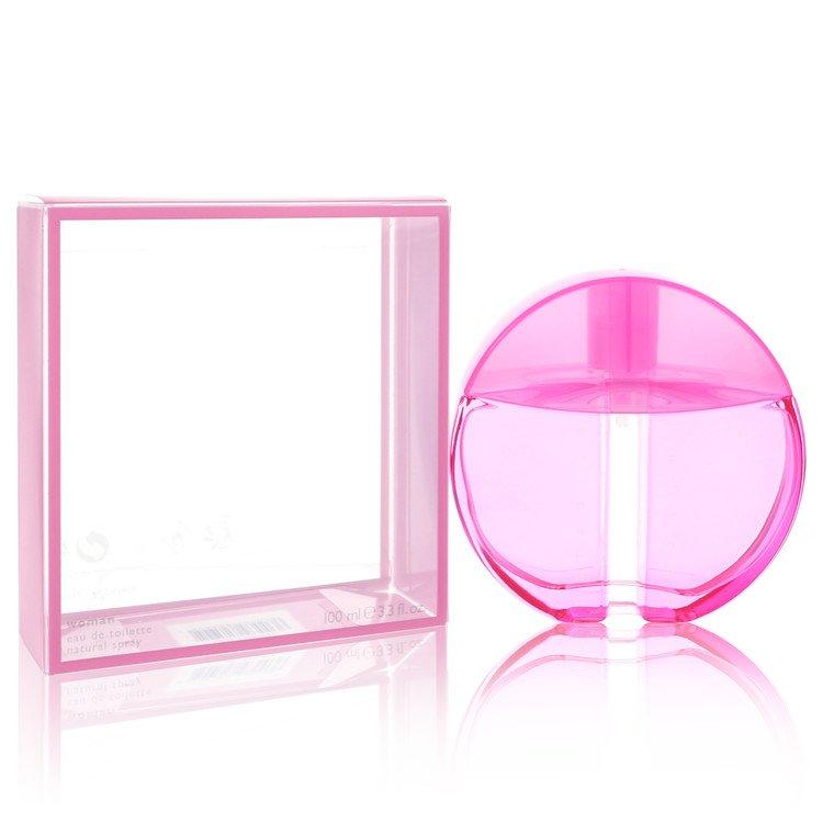 INFERNO PARADISO PINK by Benetton for Women Eau De Toilette Spray 3.4 oz