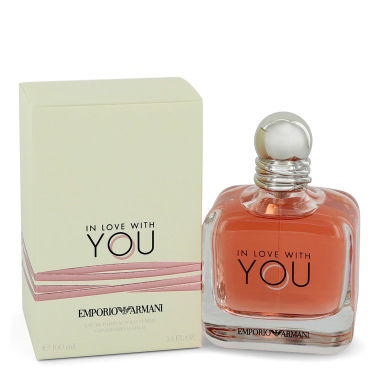 In Love With You by Giorgio Armani –  Eau De Parfum Spray 3.4 oz 100 ml for Women