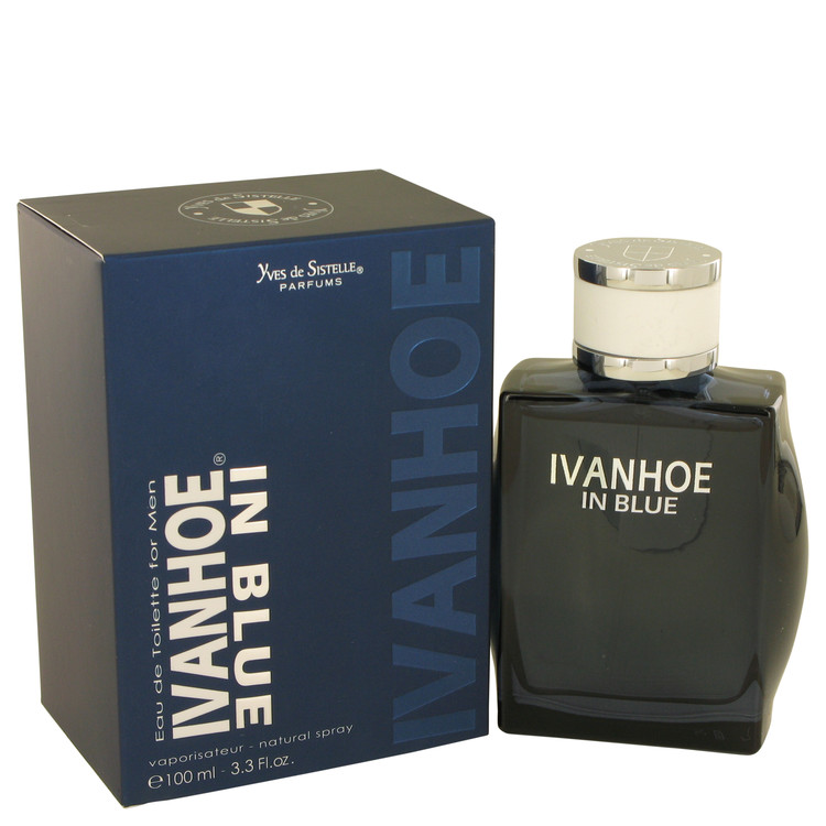 Ivanhoe In Blue by Yves De Sistelle for Men Eau De Toilette Spray 3.3 oz