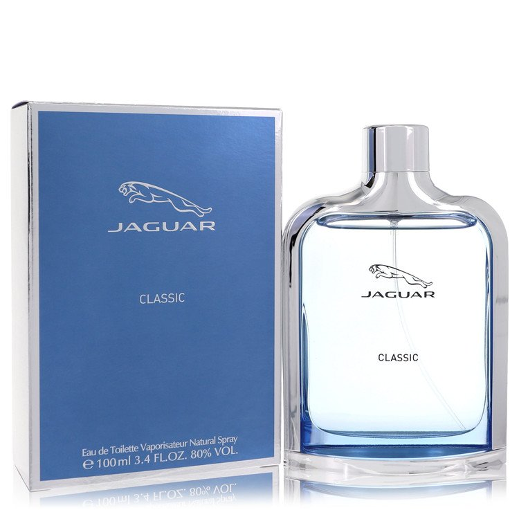 Jaguar Classic Cologne by Jaguar 3.4 oz EDT Spray for Men
