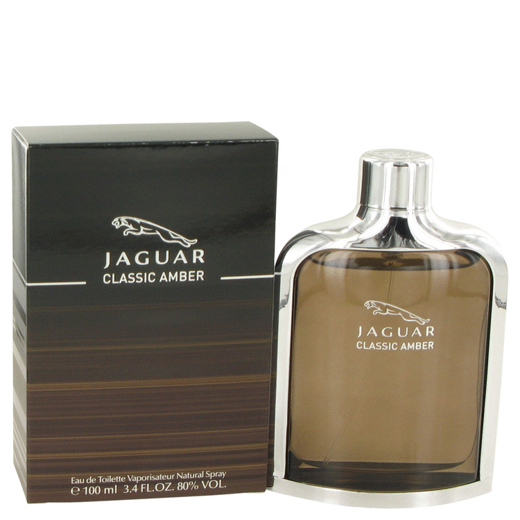 Jaguar Classic Amber Cologne by Jaguar 3.4 oz EDT Spay for Men