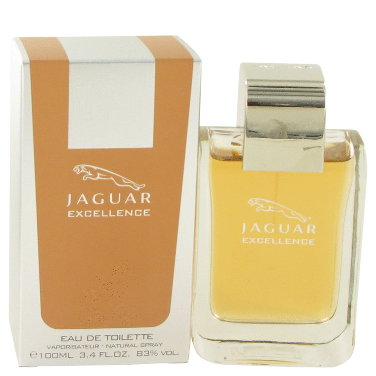 Jaguar Excellence Cologne by Jaguar 3.4 oz EDT Spay for Men