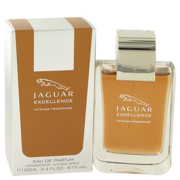 Jaguar Excellence Intense Cologne by Jaguar 3.4 oz EDP Spay for Men