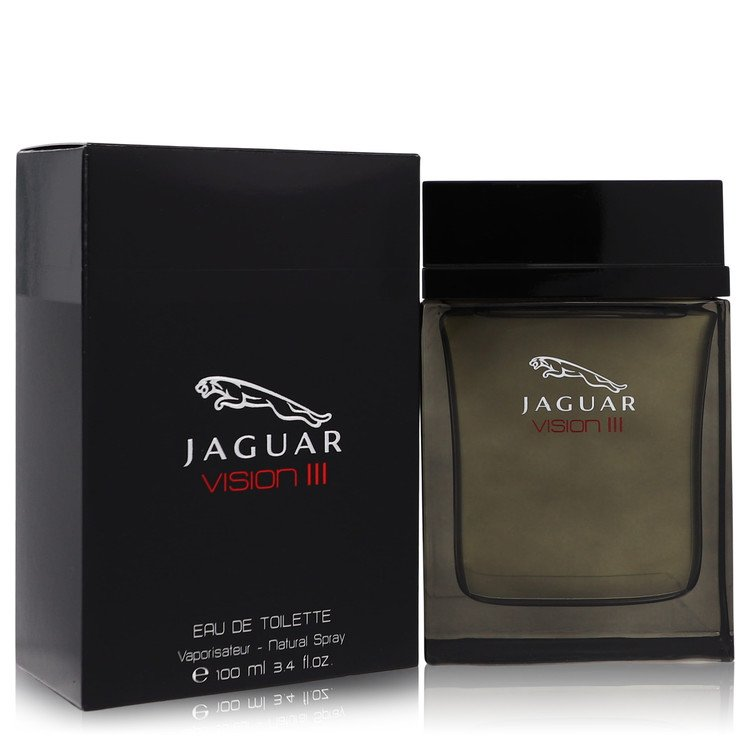Jaguar Vision Iii Cologne by Jaguar 3.4 oz EDT Spay for Men