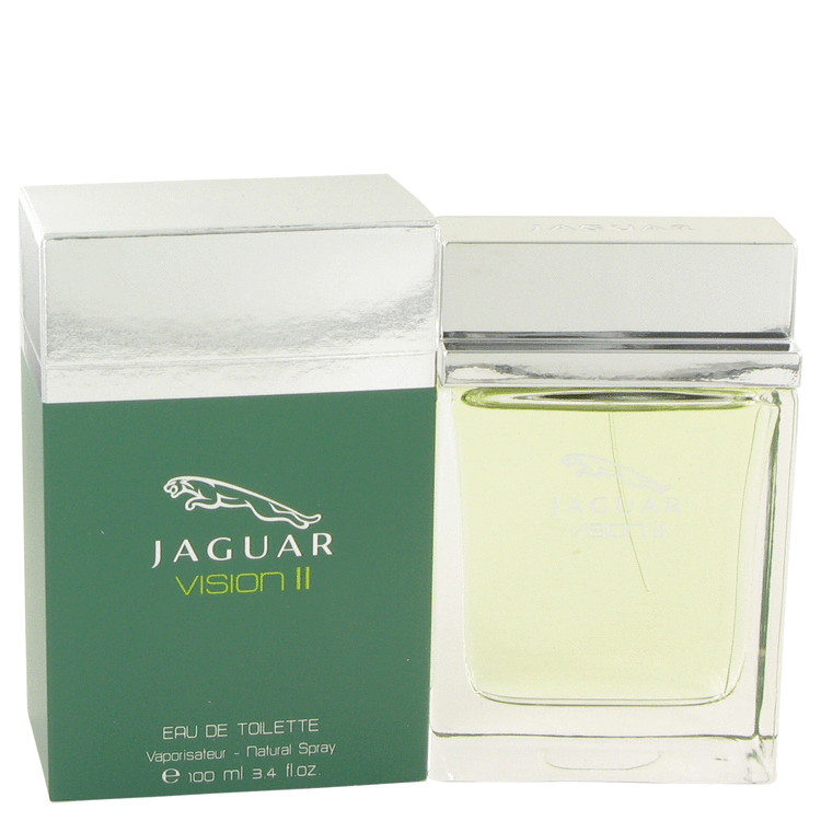 Jaguar Vision Ii Cologne by Jaguar 3.4 oz EDT Spay for Men