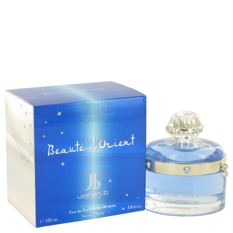 Beaute D'Orient by Johan B for Women Eau De Parfum Spray 3.4 oz