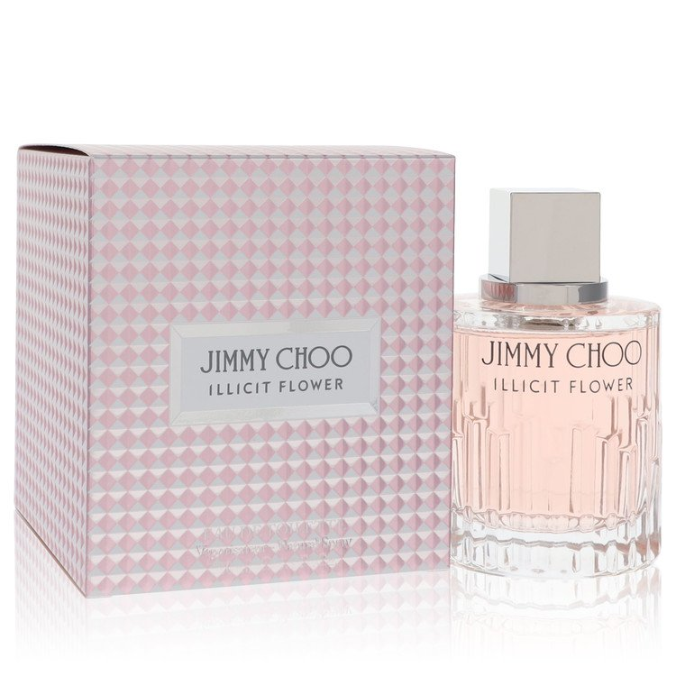 Jimmy Choo Illicit Flower by Jimmy Choo for Women Eau De Toilette Spray 3.3 oz