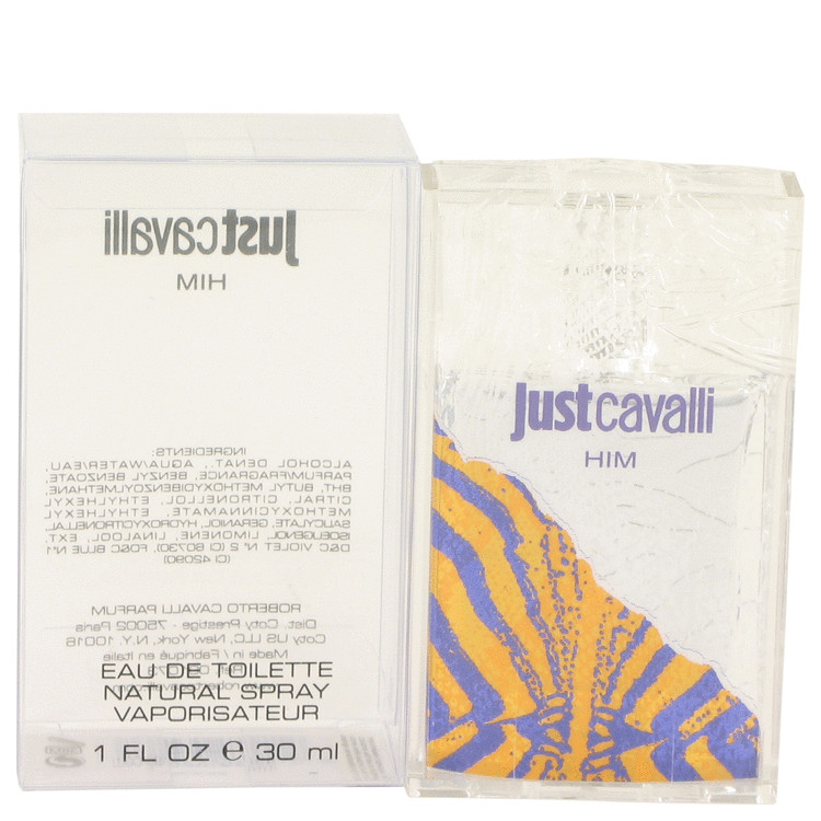 Just Cavalli by Roberto Cavalli for Men Eau De Toilette Spray 1 oz