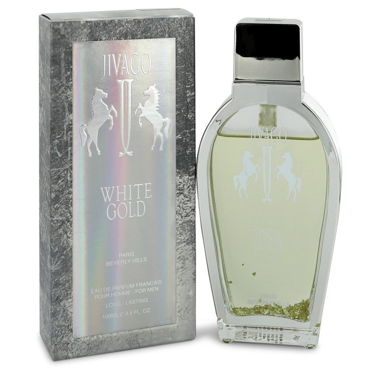 Jivago White Gold Cologne by Ilana Jivago 3.4 oz EDP Spay for Men