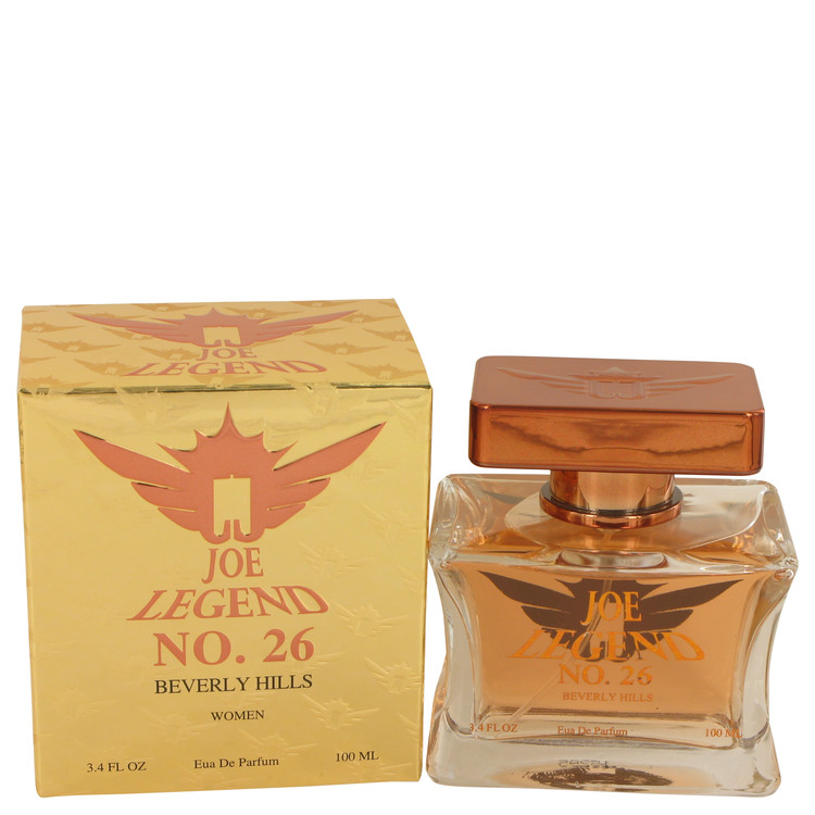 Joe Legend No. 26 by Joseph Jivago for Women Eau De Parfum Spray 3.4 oz