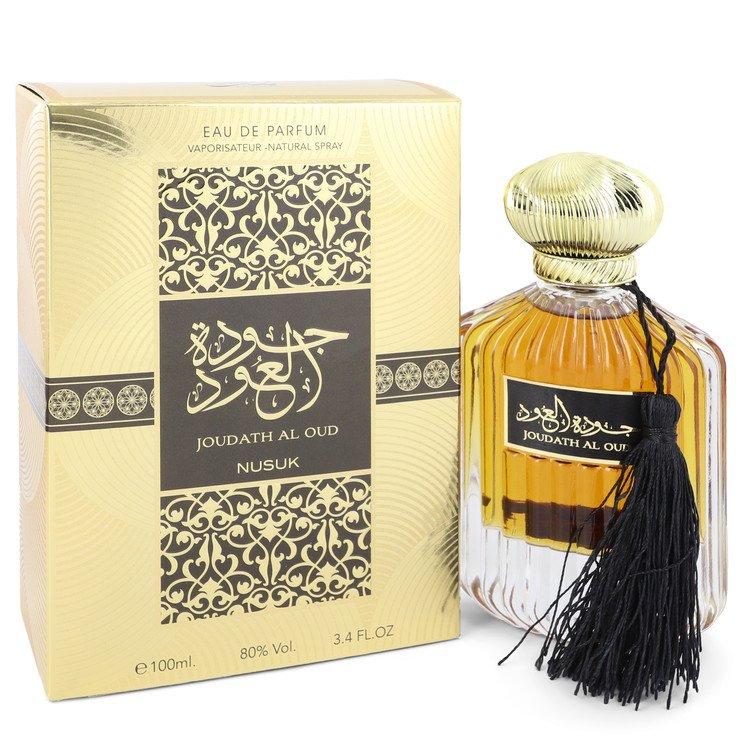 Joudath Al Oud by Nusuk –  Eau De Parfum Spray (Unisex) 3.4 oz 100 ml