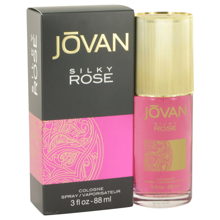 Jovan Silky Rose by Jovan for Women Cologne Spray 3 oz