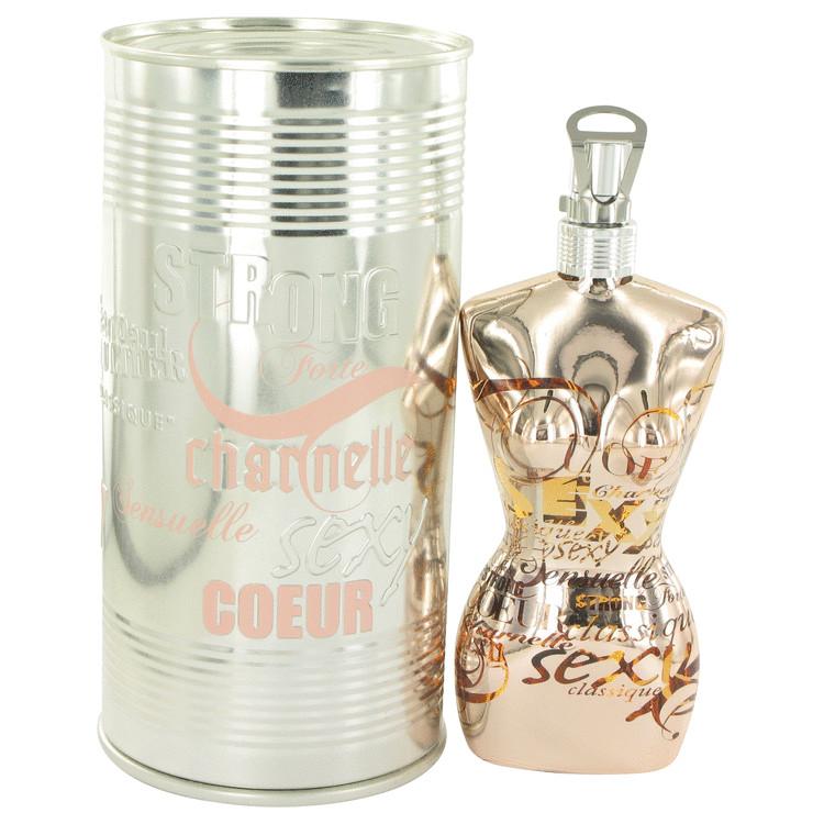 JEAN PAUL GAULTIER by Jean Paul Gaultier for Women Eau De Toilette Spray (Limited Edition Bottle) 3.3 oz