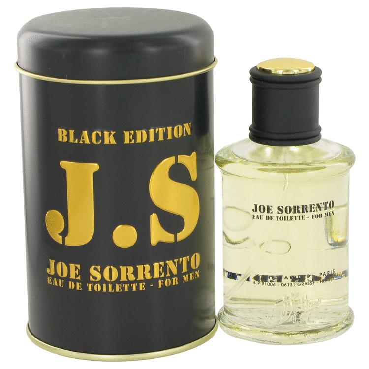 Joe Sorrento Black by Jeanne Arthes for Men Eau De Toilette Spray 3.3 oz