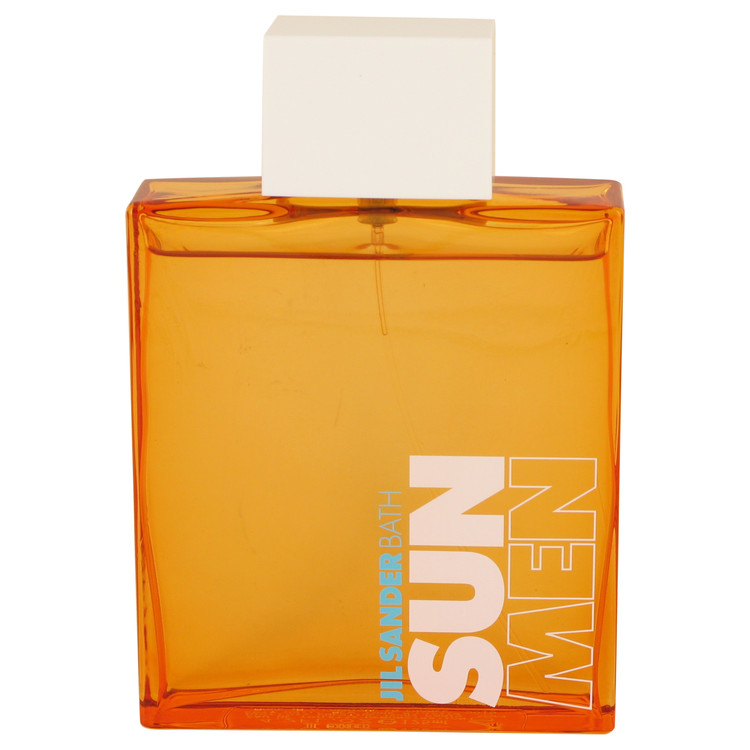 Jil Sander Sun Bath Cologne 4.2 oz EDT Spray(Tester) for Men