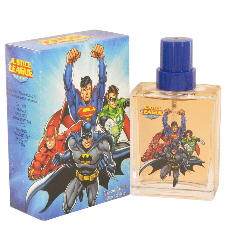Justice League by Justice League for Men Eau De Toilette Spray 3.4 oz