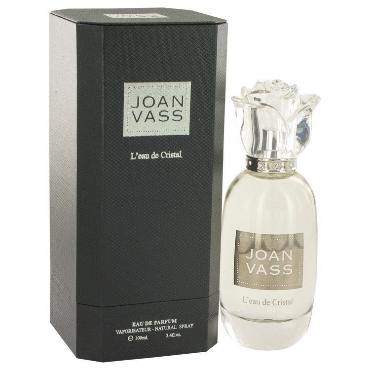 L'eau De Cristal by Joan Vass for Women Eau De Parfum Spray 3.4 oz