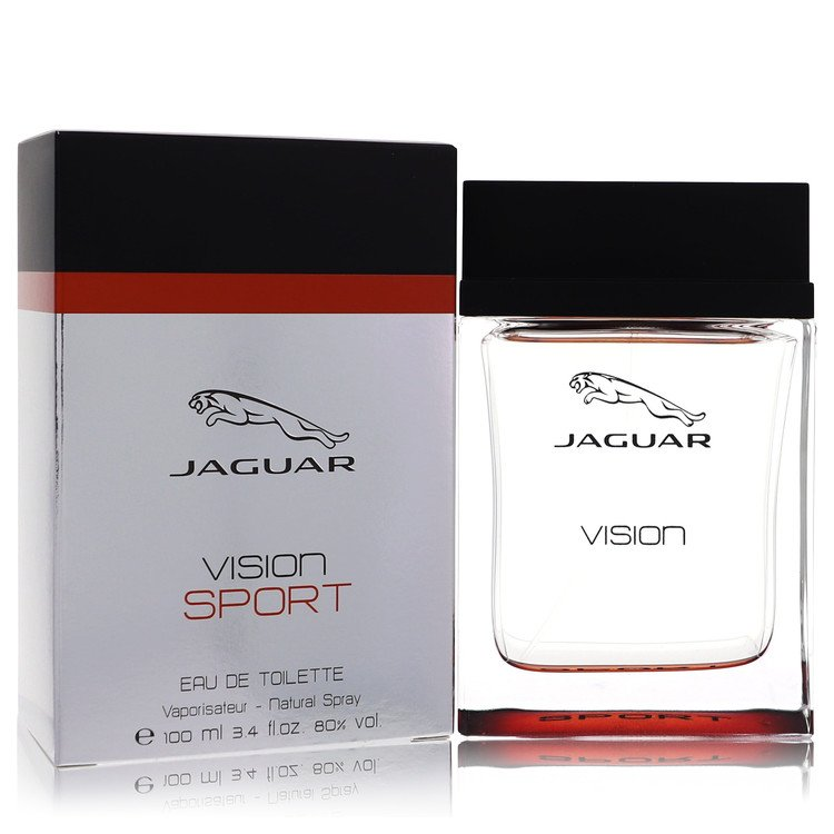 Jaguar Vision Sport by Jaguar for Men Eau De Toilette Spray 3.4 oz
